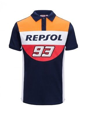 Marc Marquez 93 2018 Official Repsol Honda Polo Shirt - 18 18502