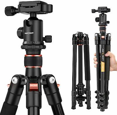 K&F Concept TM2324 Professional Digital Camera Travel Tripod w Ball Head Compact