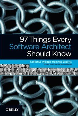 97 Things Every Software Architect Should Know by Kevlin Henney Paperback Book