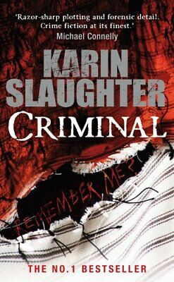 Criminal (Georgia) by Slaughter, Karin Book The Cheap Fast Free Post