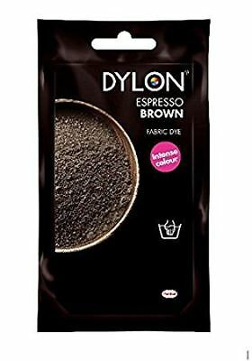 Dylon Hand Wash Fabric Clothes Dye 50g Textile Permanent Colour ESPRESSO BROWN