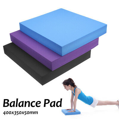 Thick Yoga Massage Cushion Balance Training Pad Mat Fitness Training Gym 40CM