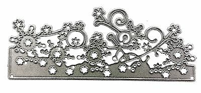 Simple Crafts Cut Emboss & Stencil Dies ~Snowflake Border