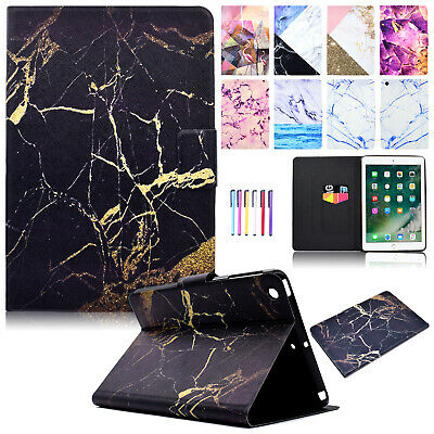 Smart Pattern Leather Wallet Stand Case Cover For iPad Mini/Air 2/6th 9.7 2018
