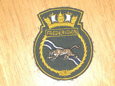 Canadian Navy Badge Ship's Crest HMCS Fredericton