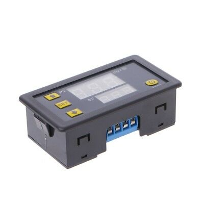 12V Timing Delay Relay Module Cycle Timer LED Digital Dual Display 0-999 Minutes