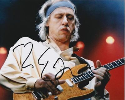 Dire Straits Mark Knopfler Signed A4 Print