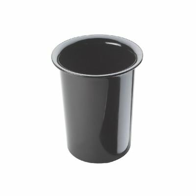 Cal-Mil 1017-13 Black Utensil / Condiment Cylinder