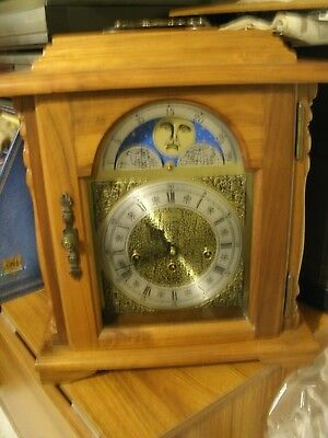 Westminster Chime Mantle Clock Moon Phase & Franz Hermle 341-020