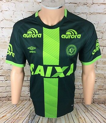 Genuine Chapecoense 16 / 17 Away Football Shirt Jersey Umbro Sz Large / L Mens