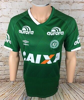 Genuine Chapecoense 16 / 17 Home Football Shirt Jersey Umbro Sz Large / L Mens
