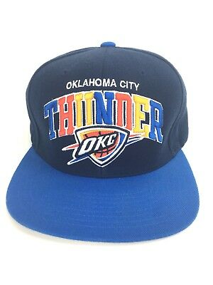 size 40 99bd2 9456f Mitchell   Ness NBA Hat Oklahoma City Thunder Adjustable Cap OKC
