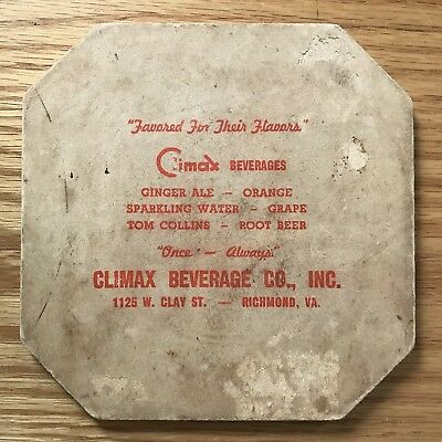 Climax Beverage Co Hot Pad Richmond Virginias Beloved Climax Ginger ale