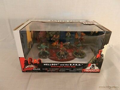 Horrorclix - Hellboy and the B.P.R.D. Seven Figure Action Pack BPRD