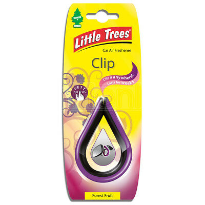 Little Trees Air Freshener Clip Forest Fruit Car Mirror Hanging Scent Odour