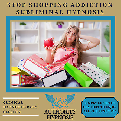 Stop Shopping Addiction Hypnosis, Control Impulse, Save Spend Money Wisely