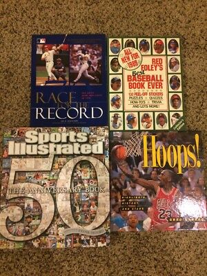 Lot Of 4 Sports Books - Sports Illustrated