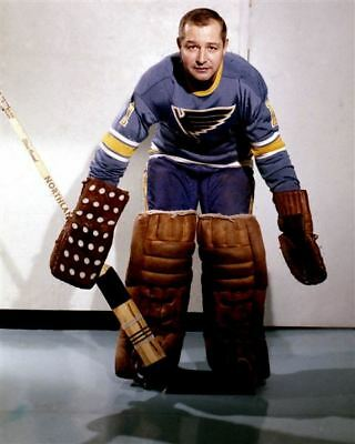Glenn Hall St Louis Blues 8x10 Photo
