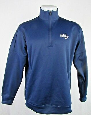 Washington Capitals Adidas Climawarm 1 4-Zip Pullover Long Sleeve NHL L d52a6d169