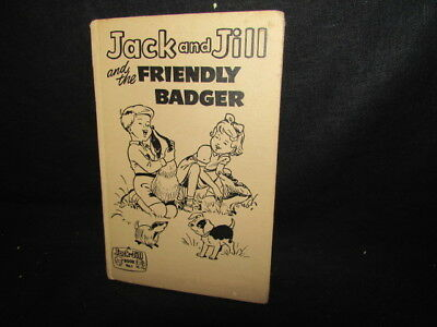 Jack and Jill and the Friendly Badger, No Author, 1961, Fleetway P, Accept