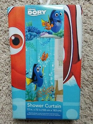 New In Box Disney Pixar Finding Dory Shower Curtain