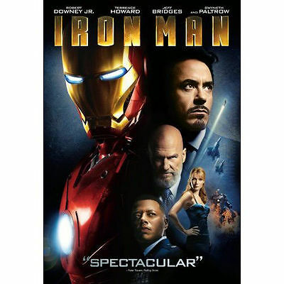 IRON MAN (SINGLE-DISC EDITION) MOVIE by Unknown