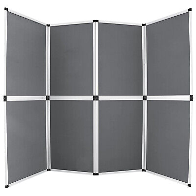 6'x8' Folding 8 Panels Trade Show Display Booth Screen Backdrop Velcro ON SALE