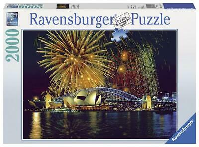 Fireworks Over Sydney Puzzle 2000 pieces - Ravensburger Free Shipping!