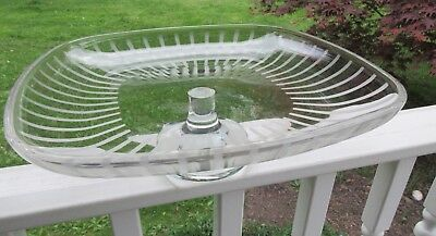MIKASA WALTHER Crystal cake stand from West Germany - $48.83 | PicClick