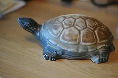 Langley ware pottery 20 cm tortoise
