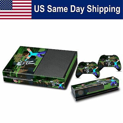 Vinyl Decals Sticker Skin for Xbox One Console & Controller Cover Set