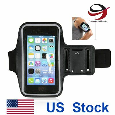 5.5' Exercise Armband Case for iPhone 6S Plus Protective Sweatproof Phone Holder
