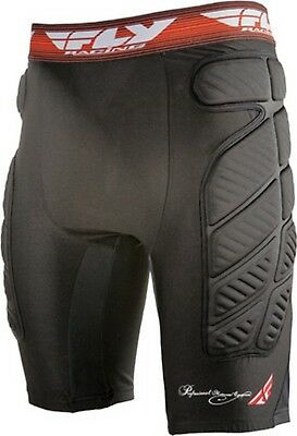 Fly Racing Compression Short MX Offroad Underwear Black