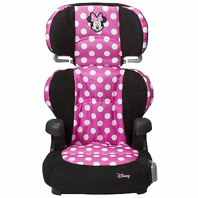 Minnie Mouse Pronto Booster Seat Disney For Children Who Weigh 30-100 Pounds
