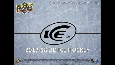 2017-18 UD ICE Hockey You Pick/ Choose Your Cards Complete your set #1-100
