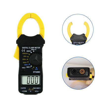 AU_ Digital Clamp Meter Multimeter Voltage Frequency Resistance Measure Tester C