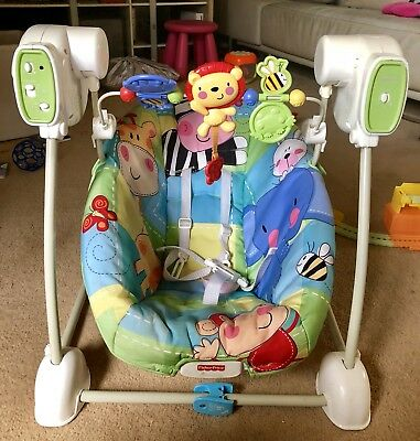 Fisher Price Baby Rocker Bouncer Seat Swing Vibrator with Music Infant