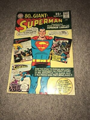 Superman #183 Awesome Giant Size Silver Age Comic See My Others!!