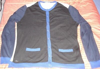 GILET   CARDIGAN LACOSTE - taille 40 7c1f8553bf84