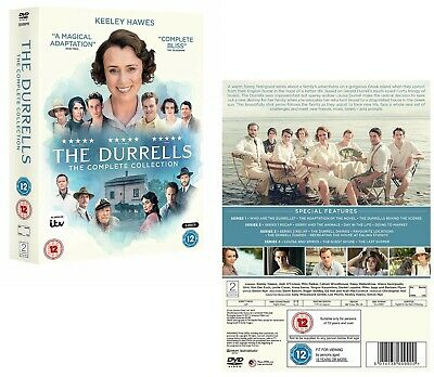 THE DURRELLS 1-4 2016-2019: COMPLETE IN CORFU TV Season Series NEW R2 DVD not US