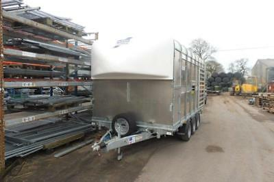 CANCELLED ORDER IWT Livestock DP120-14 Tri Axle and Flat bed Trailer - 3500kg