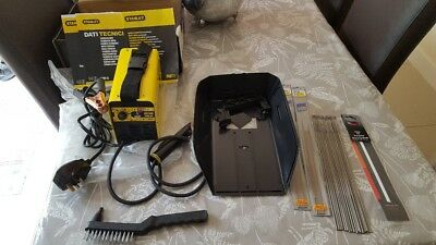 STANLEY 2500 INVERTER MMA Tig WELDER 5-80A,inc-MASK/RODS/Hammer-Brush