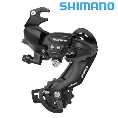 Shimano Tourney Rd-Ty300B Rear Desviador 6 / 7 Speed Negro