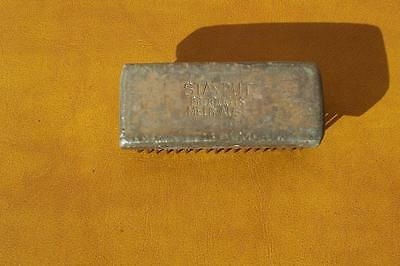 Vintage Collectable *stayput Products* Melb.aust Heavy Metal Flower Aid
