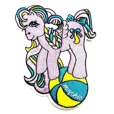 #4139 Left,Right Grey Horse,Pony Embroidery Iron On Applique Patch