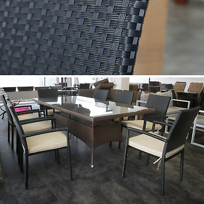 polyrattan sitzgruppe eur 150 00 picclick de. Black Bedroom Furniture Sets. Home Design Ideas