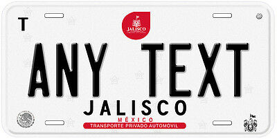 Jalisco Mexico Any Text Number Novelty Auto Car License Plate C04