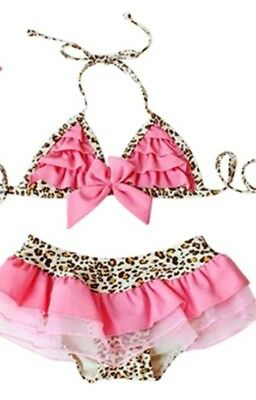 Great Used 2-3 years swimsuits beach water pool swimming girls
