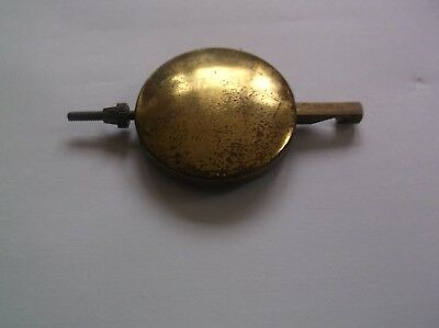 A PENDULUM FROM AN OLD  MANTEL CLOCK  63g REF VP