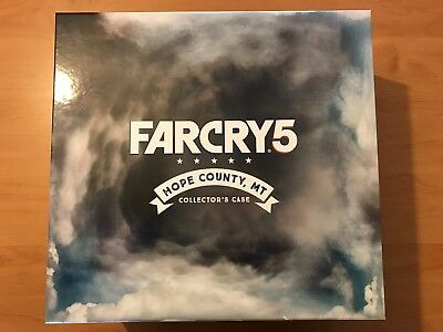 Far Cry 5 - Hope County Collectors Edition NEW!! / Ohne Spiel!! (No Game!!)